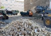 عملیات خاکبرداری مرکز اورژانس ۱۱۵ محلات دارآباد و کاشانک انجام شد