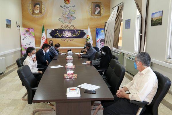 جلسه شورای فرهنگی برق باختر برگزارشد