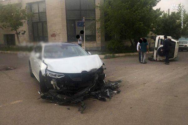 سرعت غیرمجاز حادثه آفرید + تصاویر