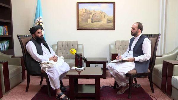 گفت و گوی اختصاصی«لقاء خاص» با سخنگوی طالبان