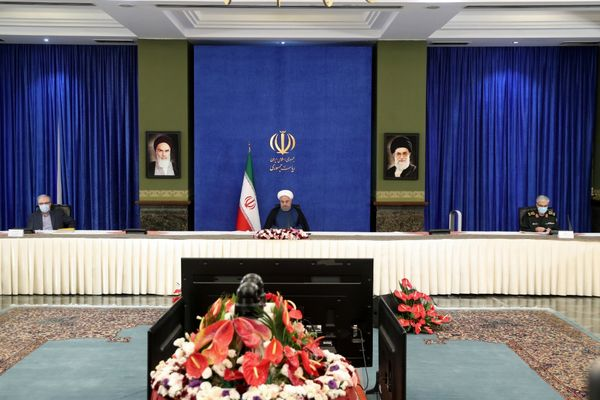 پخش زنده سخنرانی رئیس جمهور در ستاد ملی مبارزه با کرونا از خبرگزاری ایران پرس