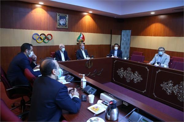 برگزاری نشست ستاد بازیهای المپیک زمستانی ۲۰۲۲