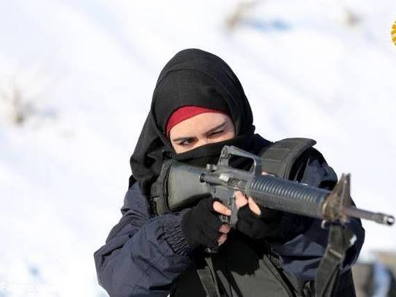 آموزش زنان پلیس افغانستان در ترکیه + عکس