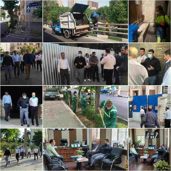 نگاهی به اقدامات شهرداری ناحیه۶ منطقه۶ در هفته جاری