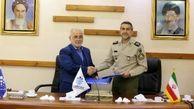 امضای تفاهم نامه بیمه حکمت و سازمان تربیت بدنی ارتش جمهوری اسلامی ایران