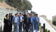بازدید از پروژه های مشارکتی شهرداری منطقه 2 تهران