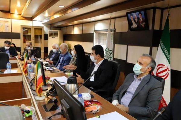 سومین جلسه کمیته خدمات و زیرساخت ستاد بازآفرینی پایدار کلانشهر تهران