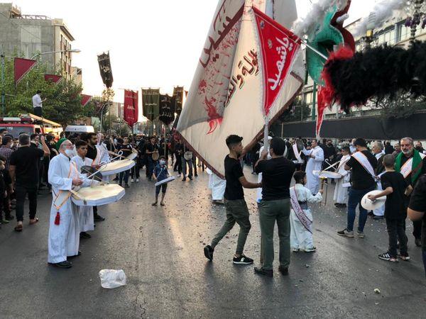 اجتماع فدائیان دو بانوی دمشق در منطقه۱۳