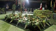 احداث یادمان شهدای گمنام در بوستان مجیدیه منطقه چهار تهران