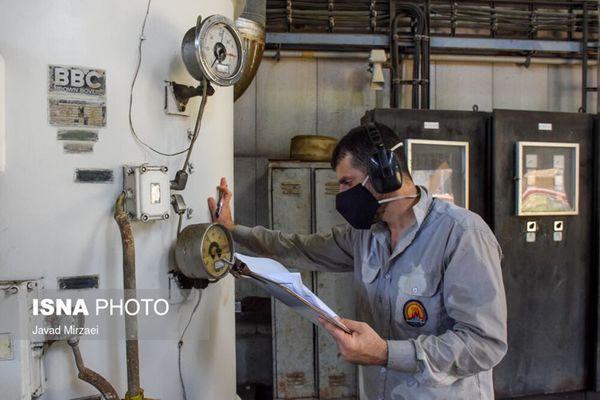 تلاش جهادگران صنعت برق برای تولید انرژی پایدار در نیروگاه نکا