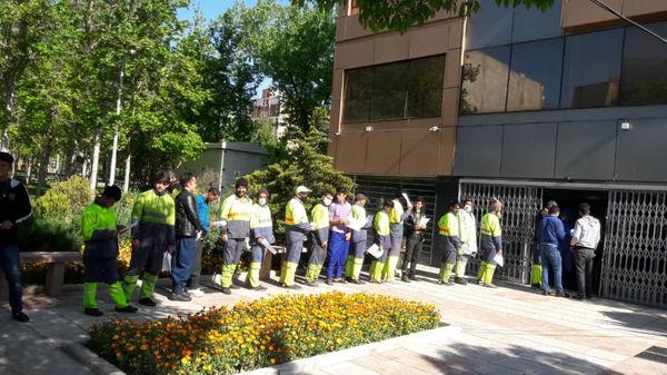 پایان غربالگری کارکنان ستادی و کارگران خدمات شهری منطقه چهار