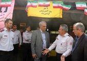 خدمات دهی شهرداری منطقه چهار به زائران اربعین حسینی در مرز چذابه