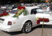 ماشین عروس جالب زوج پرسپولیسی+عکس