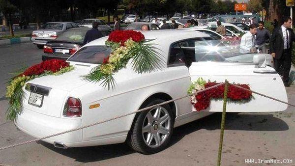 گران ترین ماشین عروس ایران! +عکس