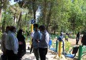 بازپیرایی عرصه فضای سبز مراکز آموزشی منطقه 15