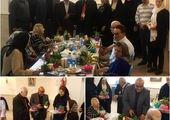 دیدار شهردار ناحیه یک منطقه شش با سرهنگ علیزاده رییس کلانتری ۱۰۷