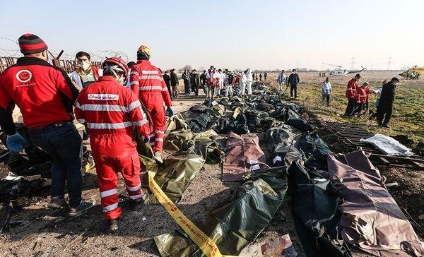 مراجعه خانواده قربانیان سقوط هواپیما به پزشکی قانونی برای اخذ DNA