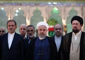تجدید میثاق رئیس جمهور و اعضای هیأت دولت با آرمانهای امام راحل و شهیدان