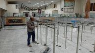 ارائه خدمات زیرساختی شهرداری منطقه چهار تهران در پایانه مرزی چذابه