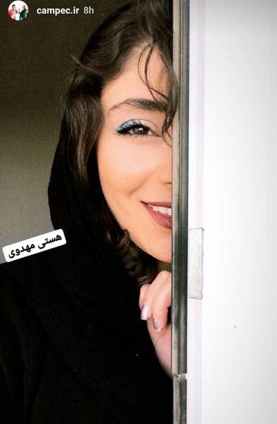 تصویر یواشکی هستی مهدوی +عکس