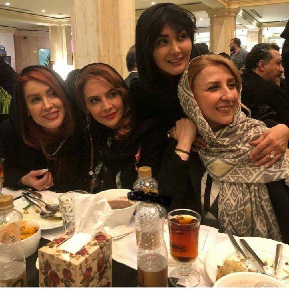 لباسهای عجیب و غریب بازیگران زن ایرانی در یک جشن +تصاویر