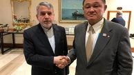 دیدار صالحی امیری با روسای کمیته ملی المپیک ژاپن و فرانسه