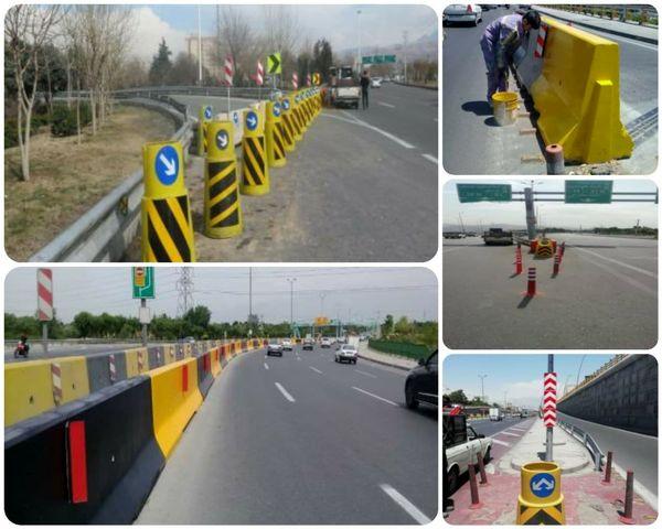 بهسازی تابلوها و علائم ترافیکی منطقه ۱۵