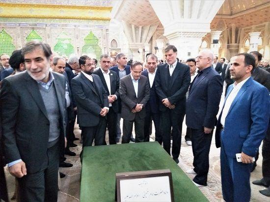 تجدید میثاق مدیران ارشد صنعت بیمه کشور با آرمانهای امام راحل در بهمن 98
