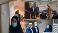 بازدید مدیرکل منابع انسانی شهرداری تهران از ساختمان اصلی معاونت فنی و عمرانی