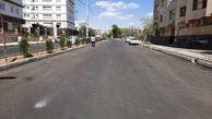 """پروژه احداث خیابان """"الله اکبر جنوبی"""" به بهره برداری رسید"""