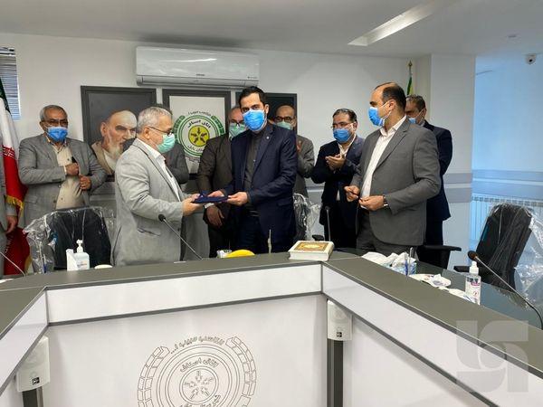 امضای تفاهمنامه همکاری بیمه های میان بیمه سرمد و اصناف بابل