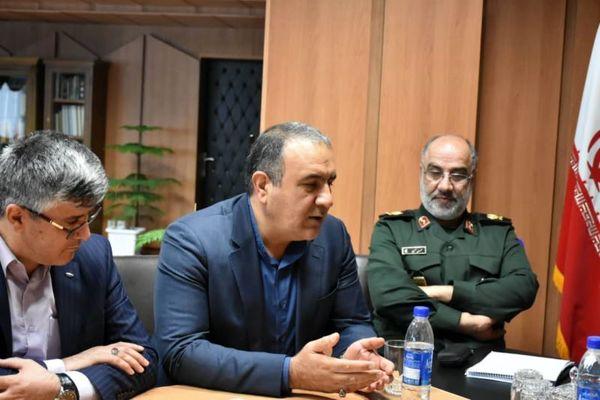 رئیس هیات مدیره و مدیرعامل بانک توسعه تعاون با استاندار استان مرکزی دیدار کرد