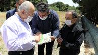 بازدید دکتر حق شناس از پروژه های قطب گردشگری شرق تهران