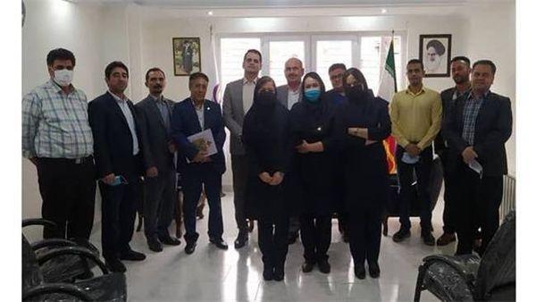 برگزاری جلسه معارفه رئیس شعبه گرگان