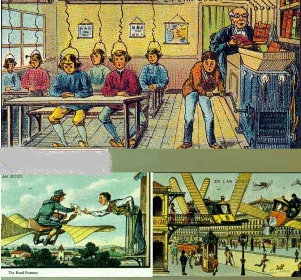تصوری که 200سال پیش از تکنولوژی وجود داشت+عکس