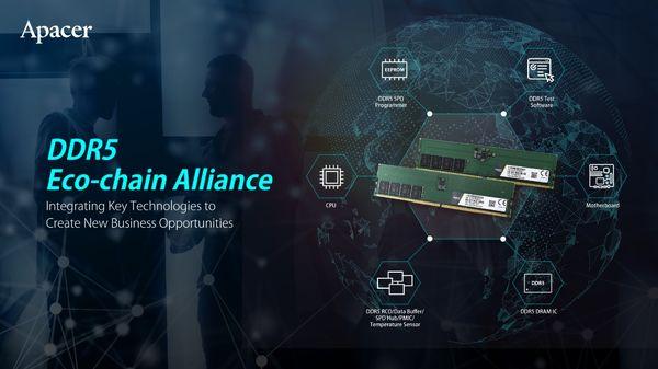 ارتقاء زنجیره زیست محیطی DDR5 از طریق تسریع برنامه های تولید انبوه و طرح توسعه خط تولید آن