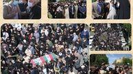 تشییع پیکر مطهر فرمانده شهید سردار حاج اصغر پاشاپور در منطقه ۱۵