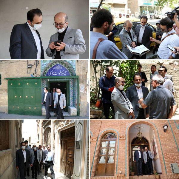 بازدید اعطا عضو شورای شهر تهران از سطح منطقه ۱۲
