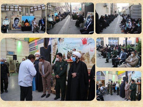 برگزاری یادواره شهدای محله شوش ، مظاهری و مطهری منطقه 15