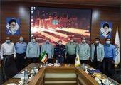 امین ابراهیمی مدیرعامل با آزادگان سرافراز شرکت فولاد خوزستان دیدار کرد.