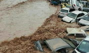 سیل ۲۰۰ خودرو را در دروازه قرآن شیراز با خود برد