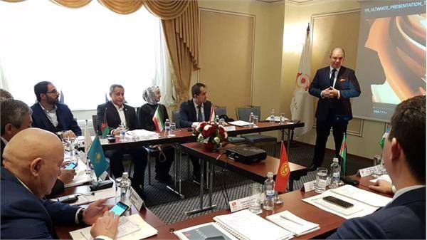 حضور سعیدی در اجلاس دبیران کل کمیته های ملی المپیک آسیای میانه