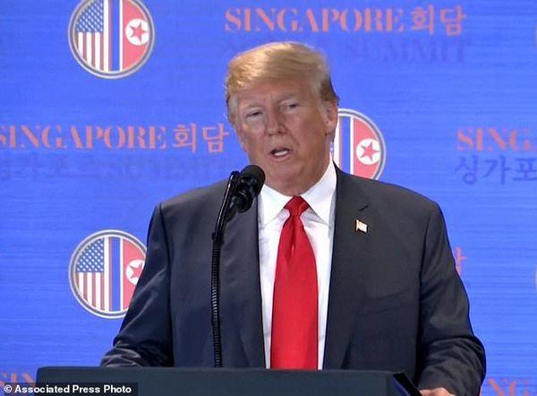 ترامپ: رهبر کره شمالی بر خلع سلاح هستهای و موشکهای بالستیک متعهد شد