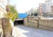 پیشرفت عملیات اجرایی پروژه احداث پارکینگ طبقاتی مینابی طبق برنامه ادامه دارد