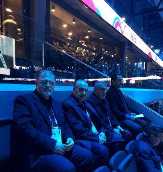 حضور مسئولین ورزشی کشورمان در افتتاحیه بازیهای المپیک جوانان