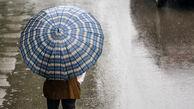 ادامه بارشهای پراکنده در کشور تا پایان هفته