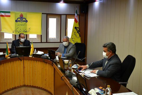 حضور سرپرست شهرداری کلانشهراراک درشرکت گازاستان مرکزی