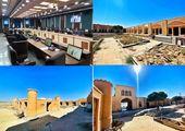 پایان مرمت بام حمام تاریخی روستای ولاشجرد فراهان
