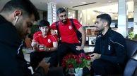 پرواز کاروان تیم ملی فوتبال به اردن