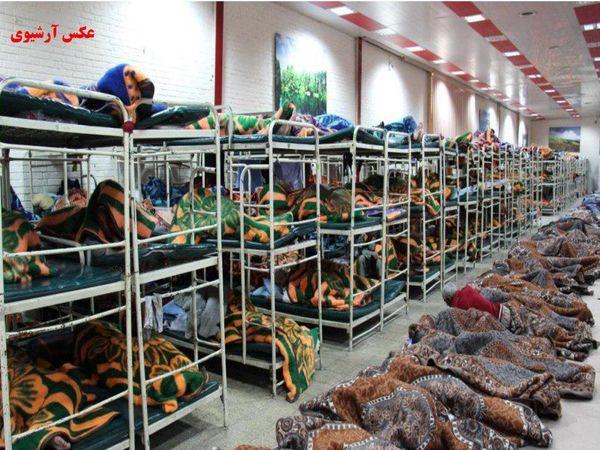 ارائه خدمات شبانه روزی در مددسرای خاوران منطقه 15